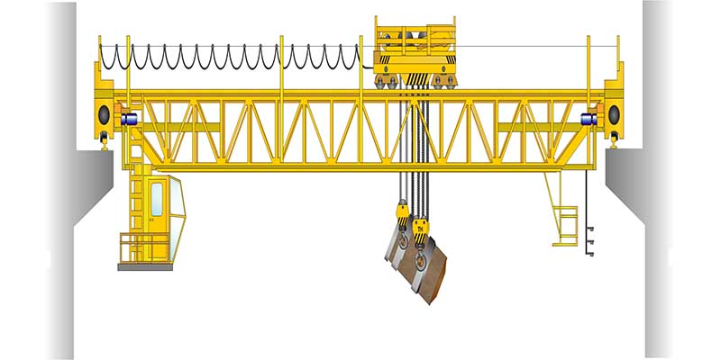Это устройства кран мостовой металлургический