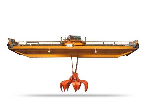Кран мостовой грейферный