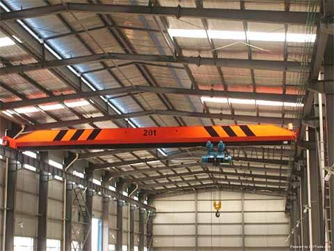 Кран мостовой 20 тонн фото