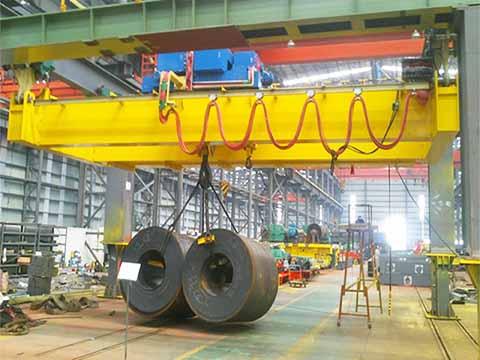 Мостовой электрический кран 32 т фото