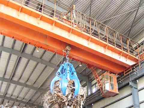 Фото кран мостовой грейферный 32 т