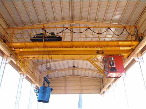 Фото мостовой кран 32т для сталелитейных заводов