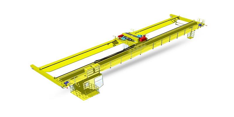 Фото мостовой кран 40 тонн