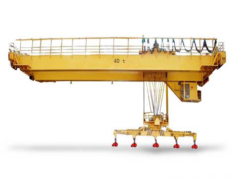 Это QC моствой кран 40 тонн