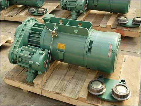 Взрывозащищённый электрический тельфер купить в Китае