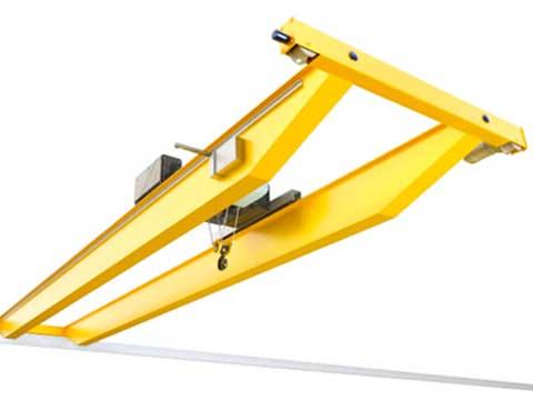 кран мостовой двухбалочный электрический фото