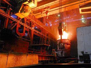 мостовой кран для сталелитейных заводов двухбалочный фото