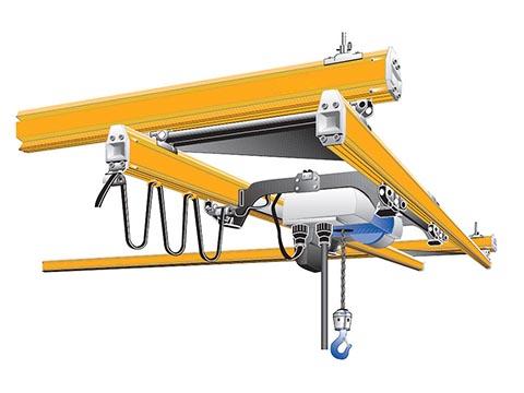 Продать мостовой подвесной двухбалочный кран