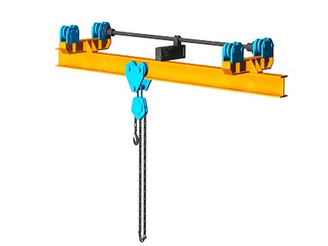 Кран мостовой ручной однобалочный подвесной 3.2т фото