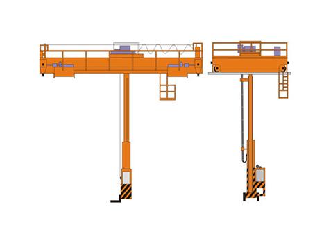 мостовой кран штабелер