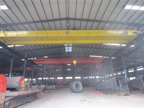 Электрический двухбалочный кран мостовой 30 тонн купить