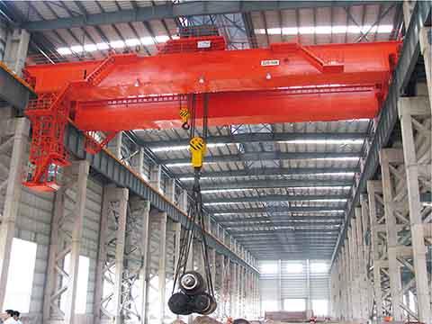 Мостовой кран для сталелитейных заводов 25 т