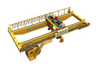 Продать магнитный мостовой кран цена