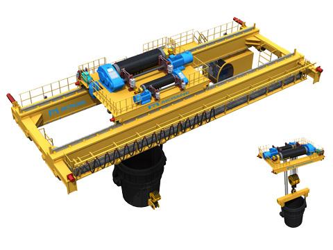 Металлургический мостовой кран купить из Китая