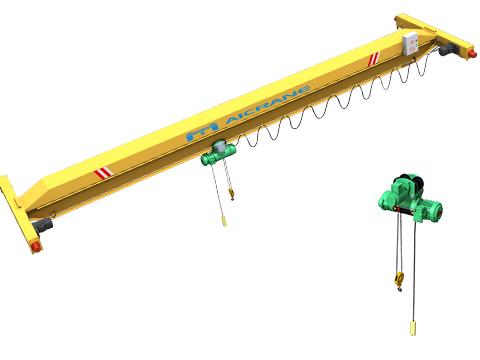 Одноаблчоный мостовой кран электрический купить