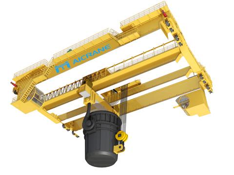 Продам двухбалочный металлургический мостовой кран 15т