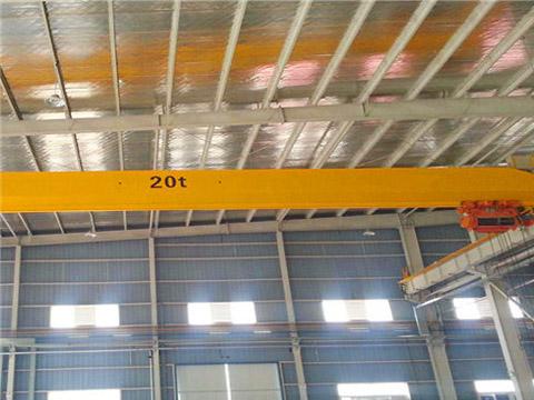 Купить однобалочный мостовой кран 20 тонн