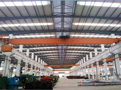 Однобалочный европейский мостовой кран 15 тонн купить