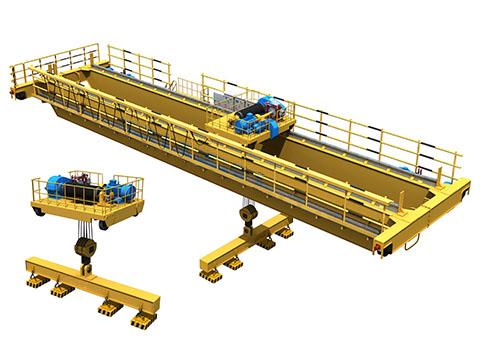 Надежный кран мостовой магнитный купить из Китая