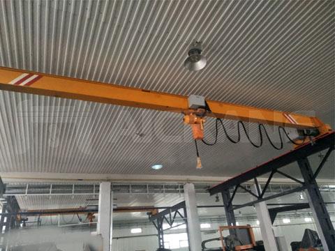 Заказать мостовые краны однобалочные цены от производителя кранов