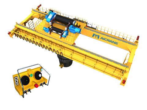 двухбалочный мостовой кран для сталелитейных заводов