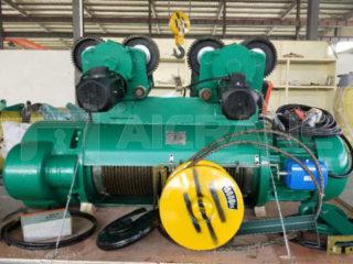 Казахстан клиент купил электрическую таль 10 тонн