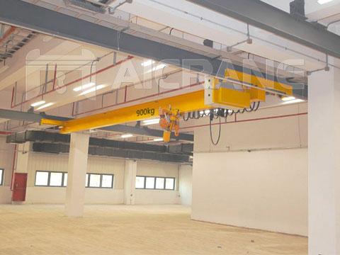 Подвесной однобалочный мостовой кран 1 тонн