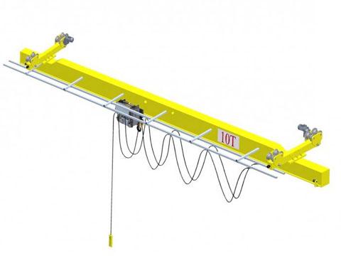 Купить подвесной мостовой кран 10 тонн