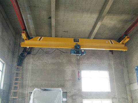 5 тонн подвесной однобалочный мостовой кран купить